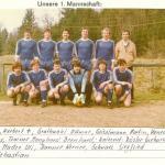1981 mannschaftsfotos